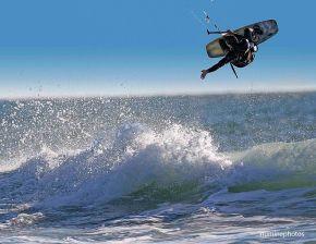 Kitesurfer Santa Cruz