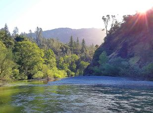Dawn on the Russian River