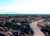 Path through lava field small