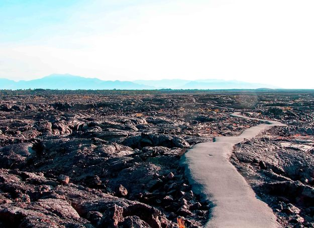 Path through lava field small